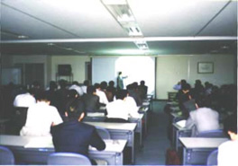 Holding lectures