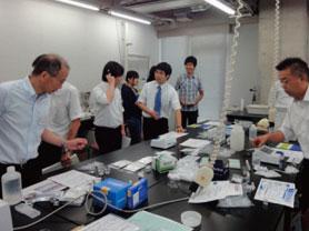 講座1 簡易分析キットを用いた水の分析