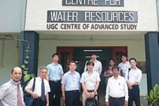 ⑥アンナ大学Center For Water Resource訪問